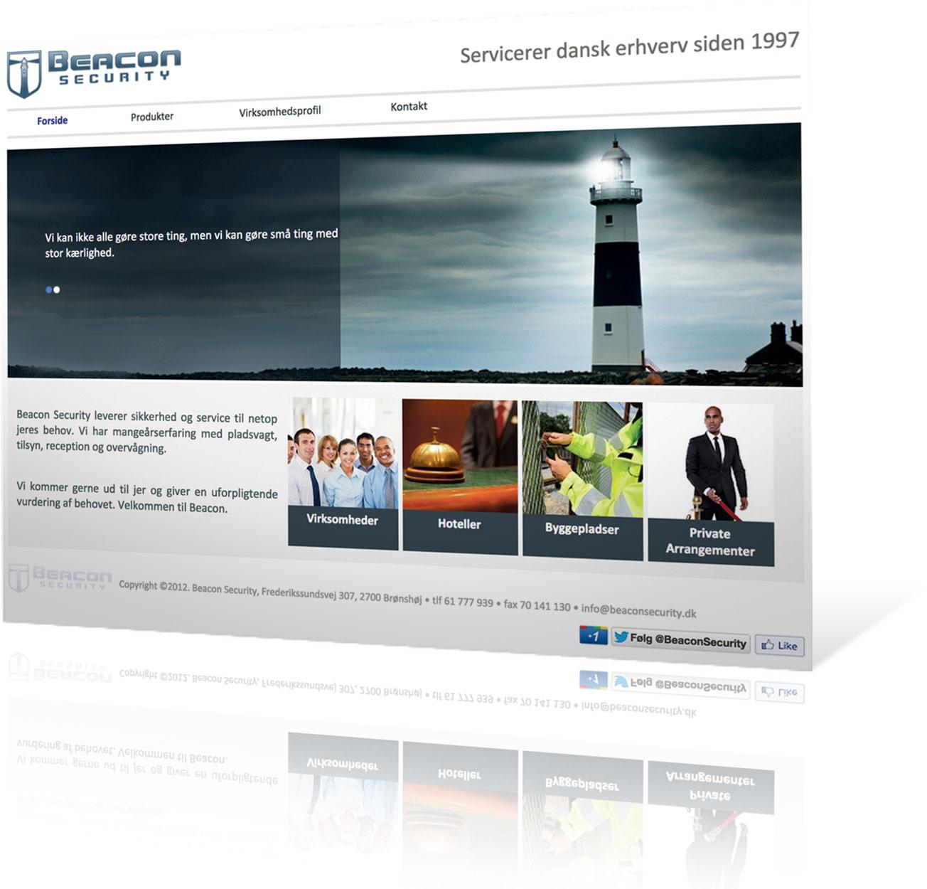 beacon-hjemmeside
