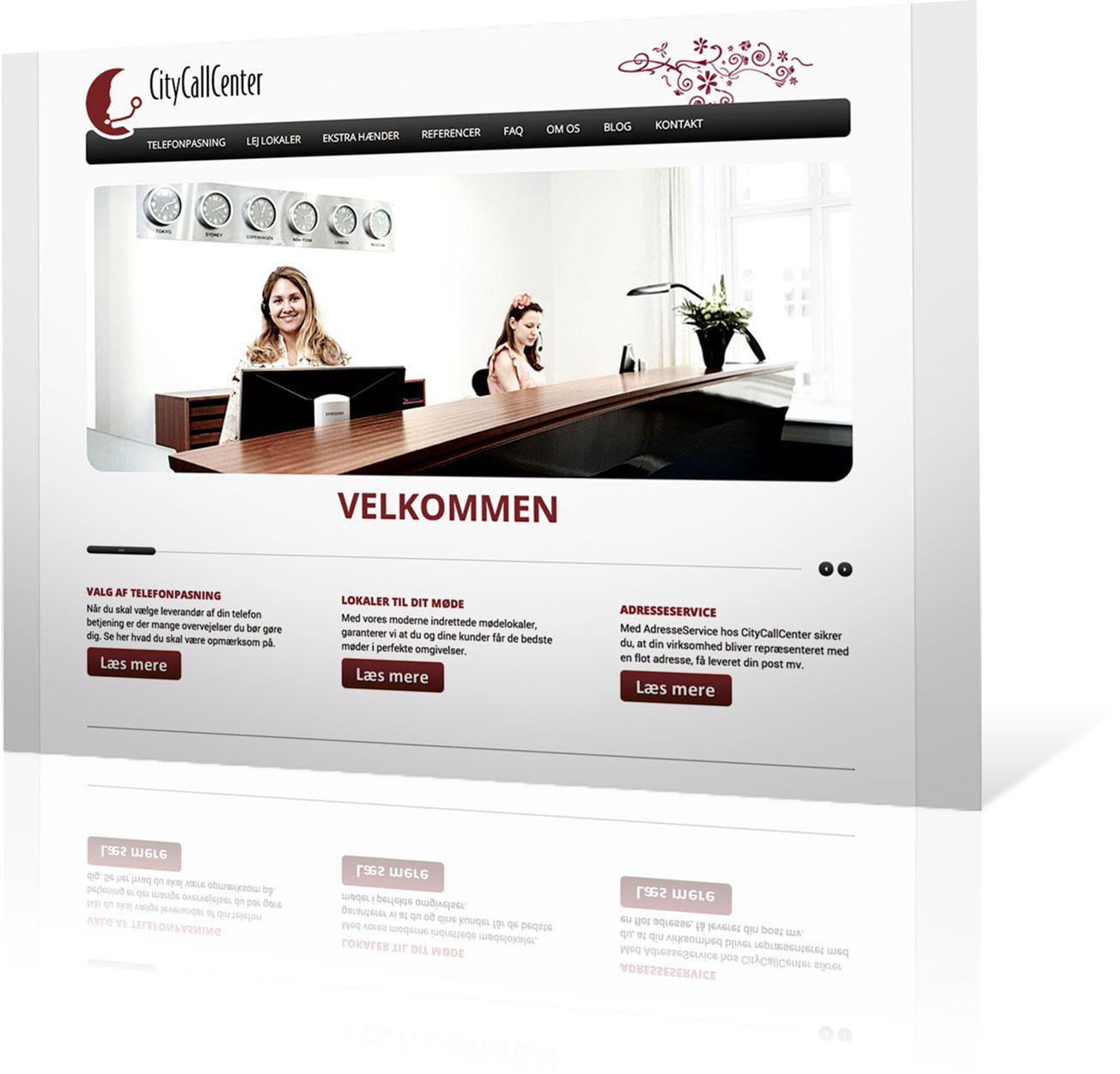 citycallcenter-hjemmeside