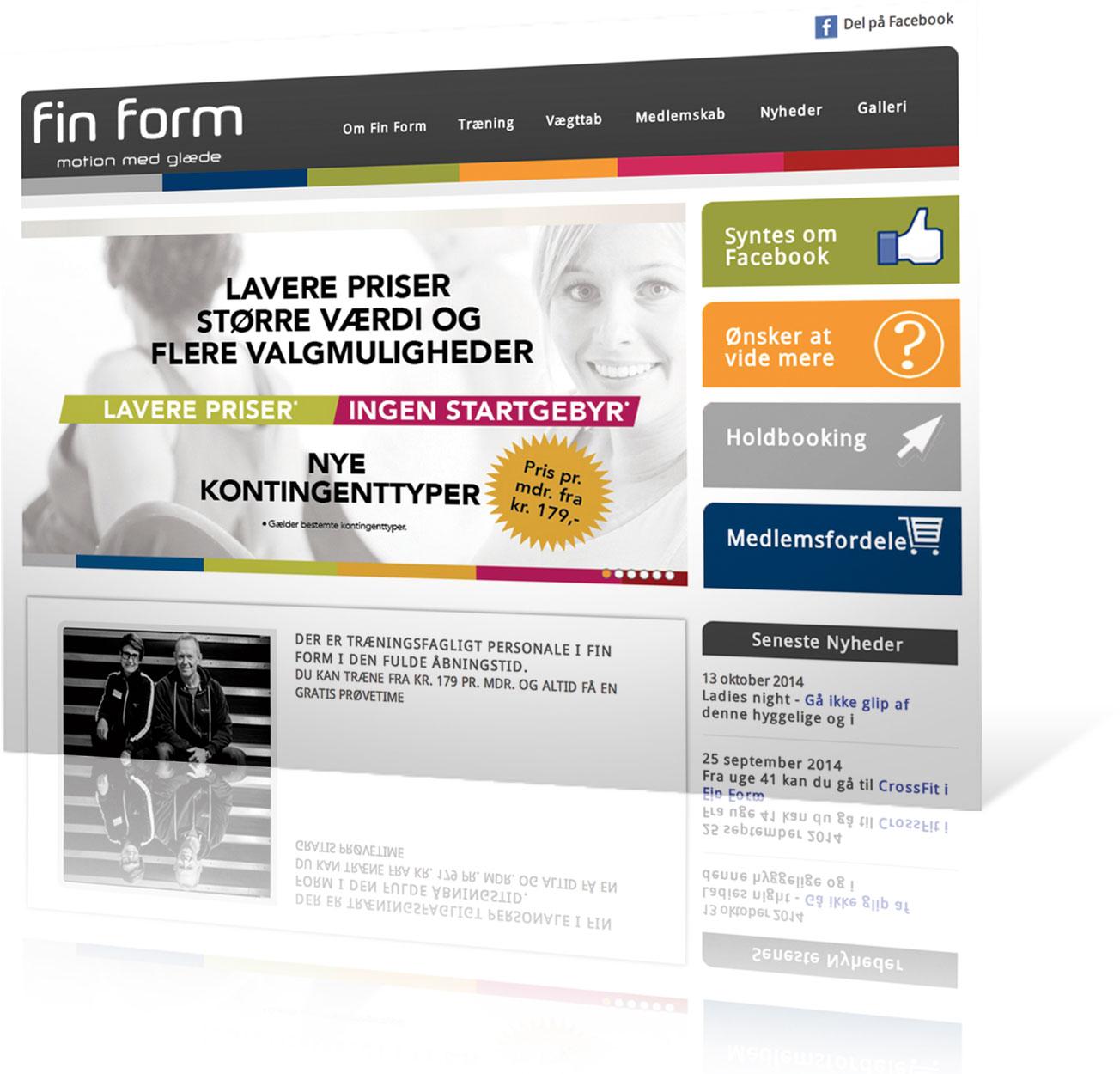 finform-hjemmeside