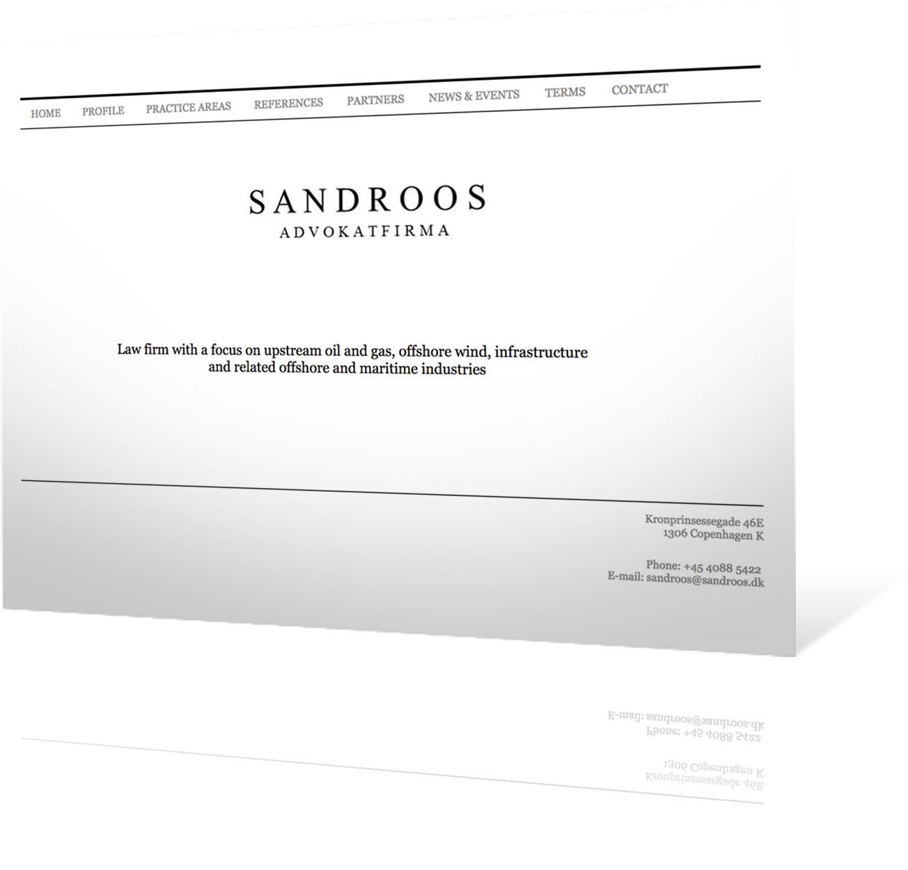 sandroos-hjemmeside