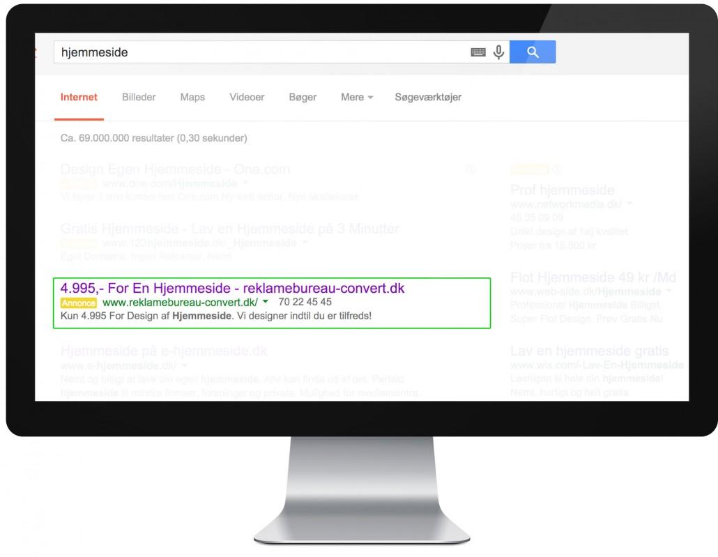 google-optimering